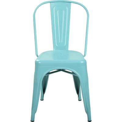 Alandra Side Chair Finish: Blue