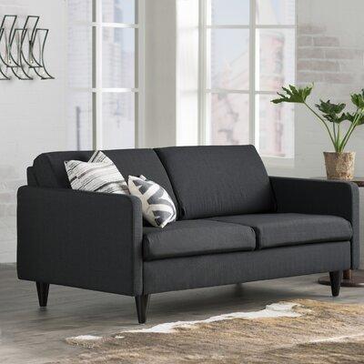 Ackerson Caldera Sofa Upholstery: Midnight Black