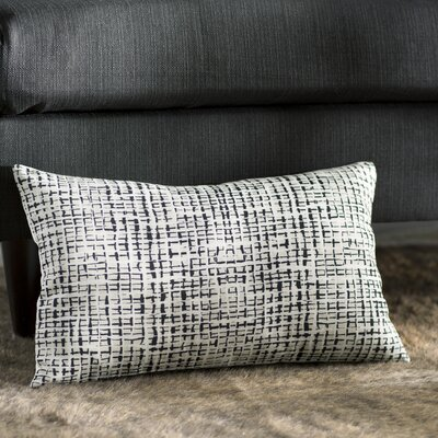 Zurcher Abstract Grid Large Pillow Size: 12 H x 20 W