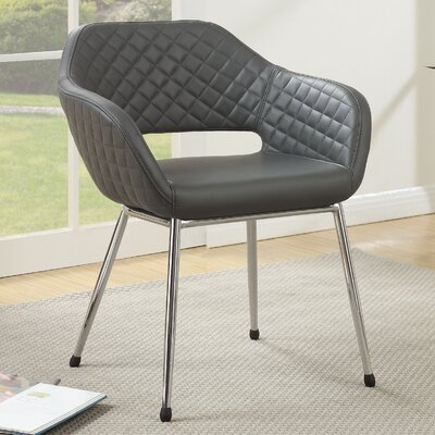 Macie Armchair Color: Grey