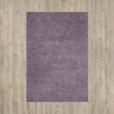 Bluestar Purple Area Rug Rug Size: Rectangle 67 x 96