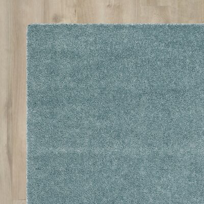 Virgo Light Blue Area Rug Rug Size: 8 x 10