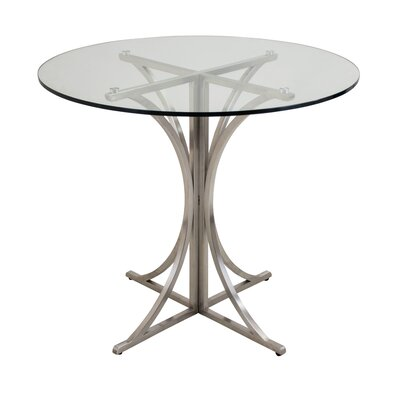 Dining Table Finish: Stainless Steel