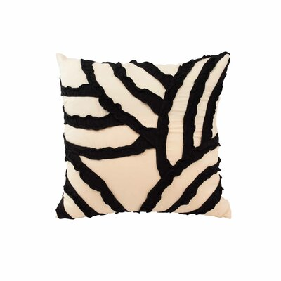 Parry Fashion Throw Pillow Color: Cream