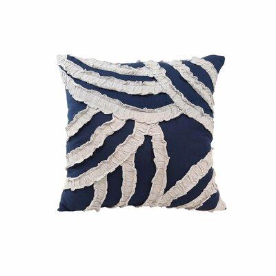 Parry Fashion Throw Pillow Color: Dark Grey