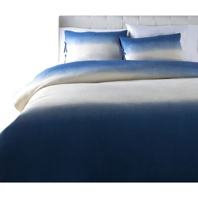 Damien Duvet Cover Set Color: Blue, Size: Full / Queen