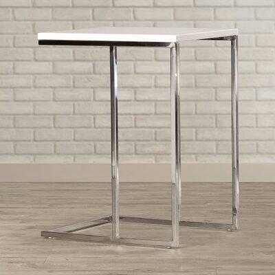 Otoole End Table Finish: White
