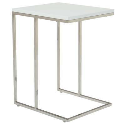 Otoole End Table Color: White