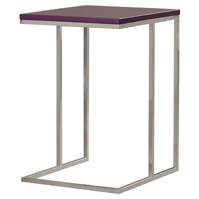 Otoole End Table Finish: Purple