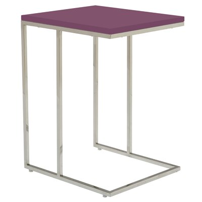 Otoole End Table Finish: Purple
