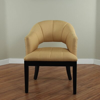 Side Chair Upholstery: Yellow