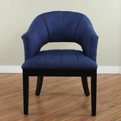 Side Chair Upholstery: Deep Blue