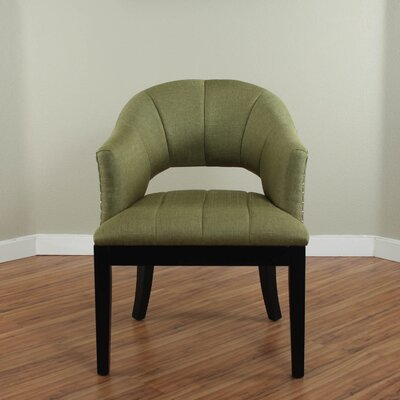 Side Chair Upholstery: Olive
