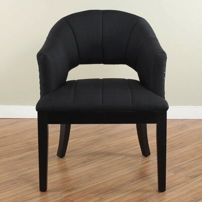 Seabolt Dining Chair Upholstery: Black
