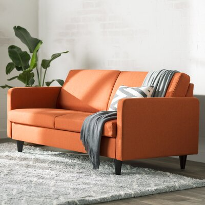 Ackerson Caldera Sofa Upholstery: Orange