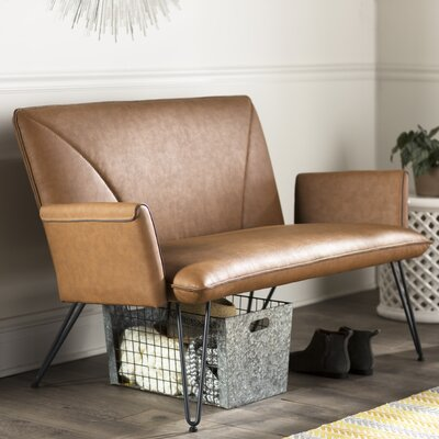 Aphrodite Settee Upholstery: Camel