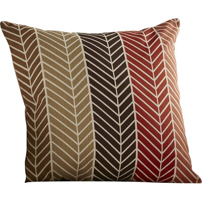 Throw Pillow Color: Lava