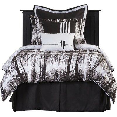 Landon Reversible Comforter Set Size: Full