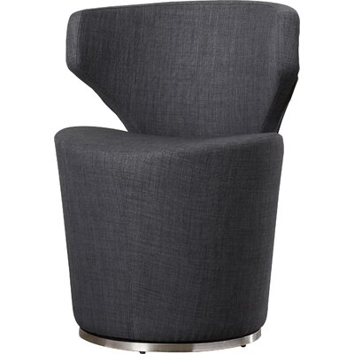 Barrier Barrel Chair Upholstery: Charcoal