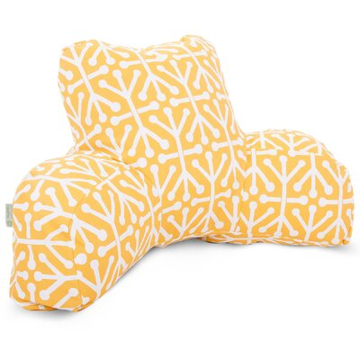 Nerys Indoor/Outdoor Bed Rest Pillow Color: Citrus