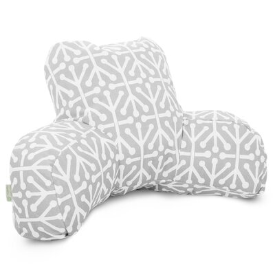 Nerys Indoor/Outdoor Bed Rest Pillow Color: Gray