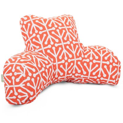 Nerys Indoor/Outdoor Bed Rest Pillow Color: Orange