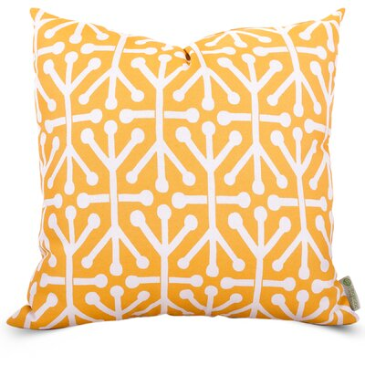 Nerys Indoor/Outdoor Throw Pillow Fabric: Citrus, Size: Large