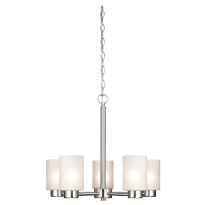 Burchfield 5-Light Shaded Chandelier
