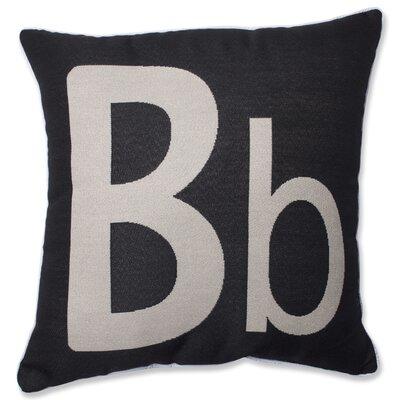 Appling Initial Throw Pillow Letter: B