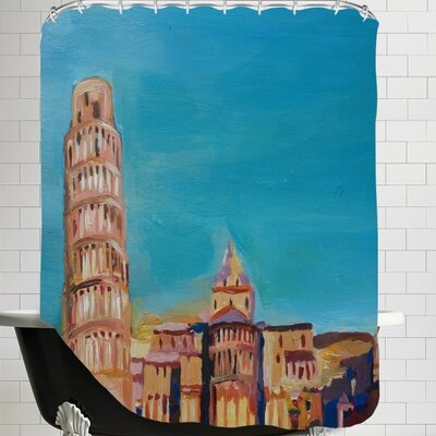Pisa Shower Curtain
