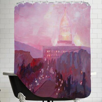 Washington Capitol 3 Dusk Shower Curtain