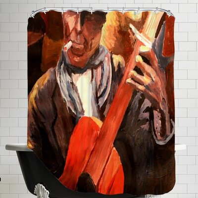 Markus Bleichner Aoki The Guitarrero Shower Curtain