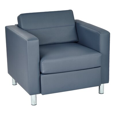Desma Club Chair Upholstery: Blue