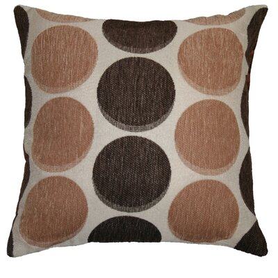 Frank Decorative Throw Pillow Color: Gold / Brown