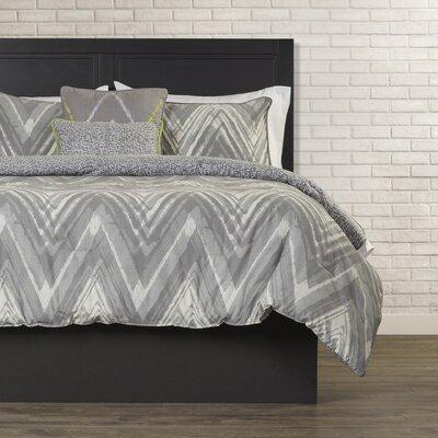 Diodorus 5 Piece Reversible Comforter Set Size: King