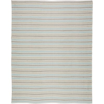Altair 3 Piece Hand Woven Cotton Turquoise/Beige/Tan Area Rug Rug Size: Rectangle 5' x 7'9