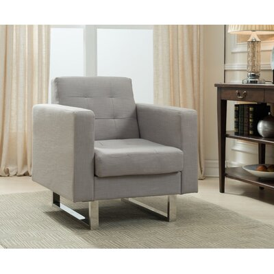 Lysander Arm Chair Upholstery: Beige
