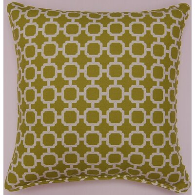 Tessa Indoor/Outdoor Pillow Color: Pear