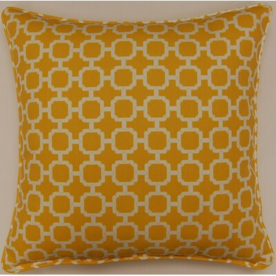 Tessa Indoor/Outdoor Pillow Color: Banana