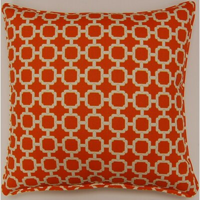 Tessa Indoor/Outdoor Pillow Color: Mandarin