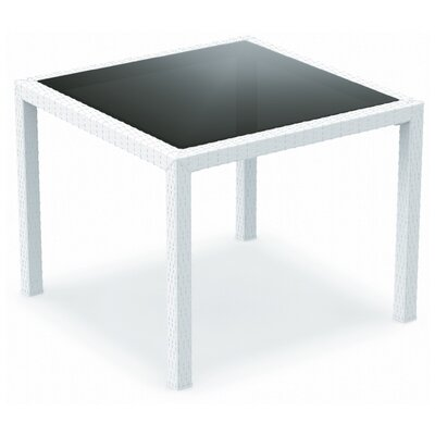Kesler Dining Table Finish: White