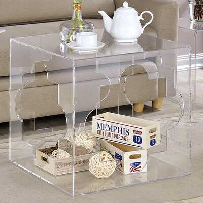 Slyvia Cube End Table