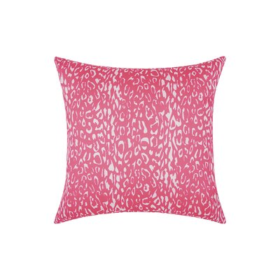 Eustachys Indoor/Outdoor Polyester Throw Pillow Color: Hot Pink MCRR4959 29143705