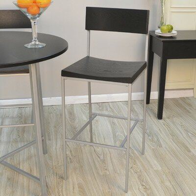 Xenia 30 Bar Stool Finish: Black