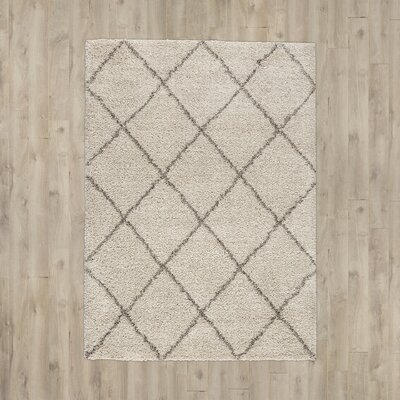 Kalypso Ivory Area Rug Rug Size: Rectangle 9 x 12