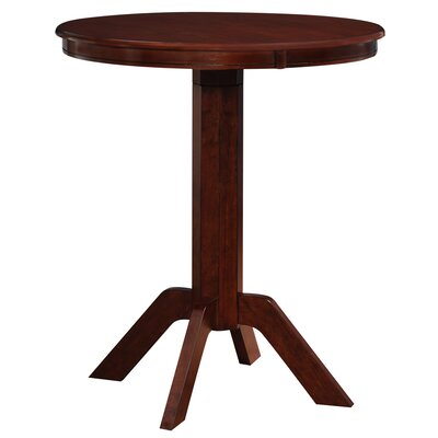 Worrell Pub Table Finish: Hazelnut
