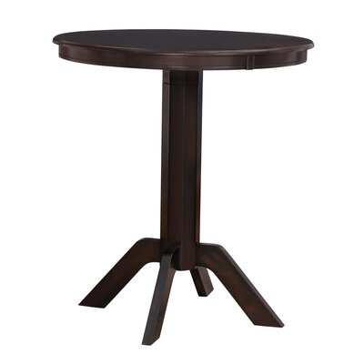 Worrell Pub Table Finish: Merlot