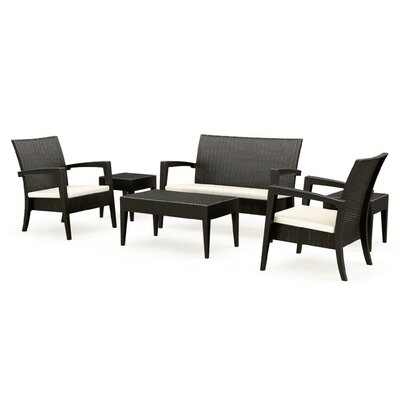 Kesler 6 Piece Sofa Seating Group with Cushions