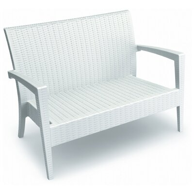 Kassiopeia Miami Loveseat Color: White