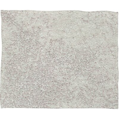Calista Snowballs Plush Fleece Throw Blanket Size: Large